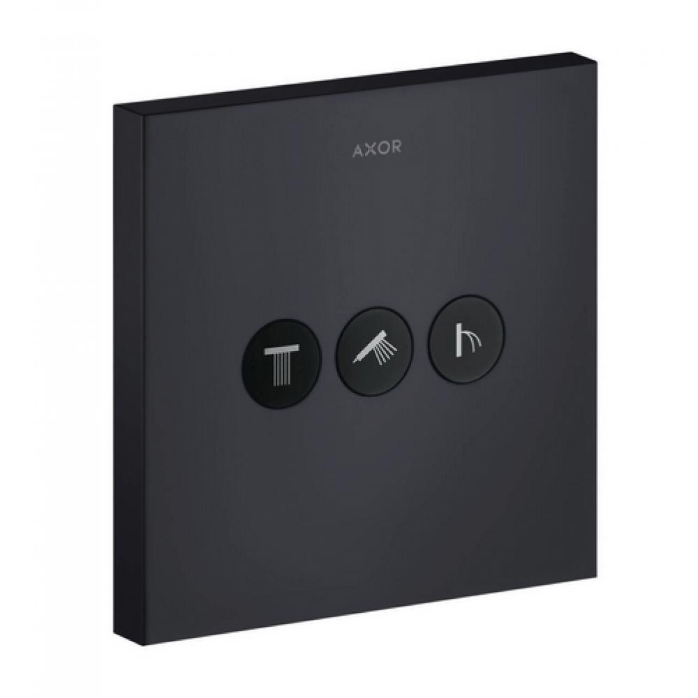 Вентиль AXOR ShowerSelect для 3 потребителей квадратный скрытого монтажа  36717350
