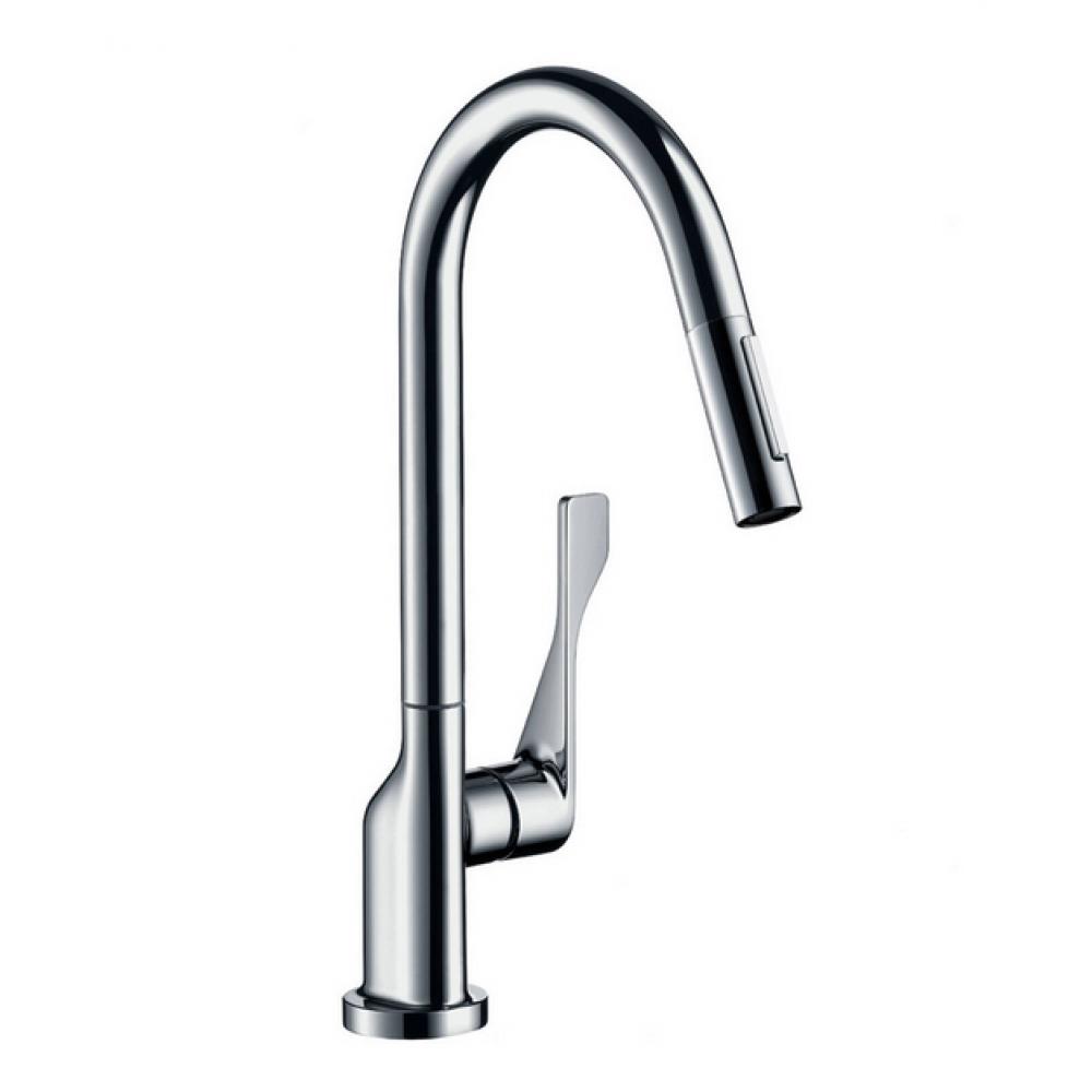Кухонный смеситель AXOR Citterio 250 мм с вытяжным душем Eco  39832000