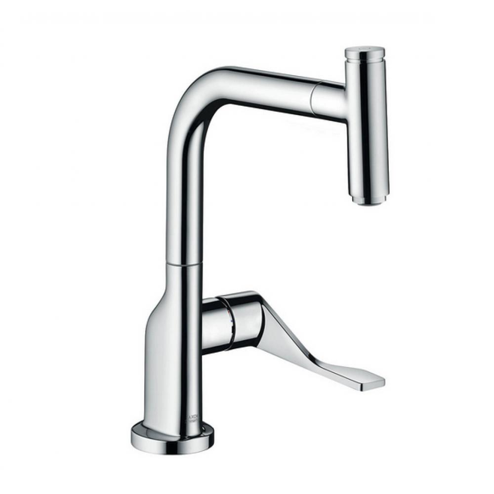 Кухонный смеситель AXOR Citterio 230 мм с вытяжным изливом Eco  39864000