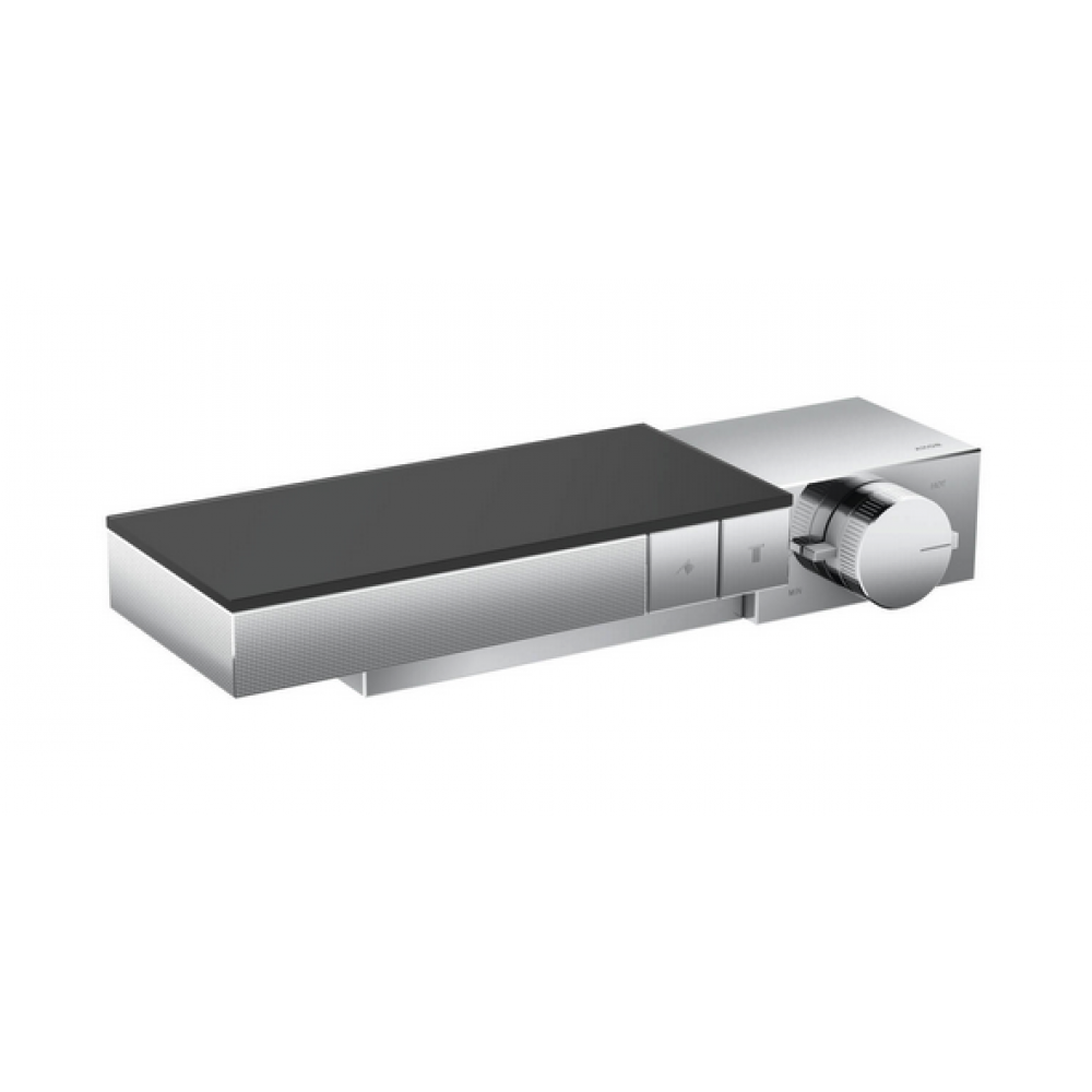 Термостат AXOR Edge для 2 потребителей комбинированного монтажа с алмазной огранкой  46241000