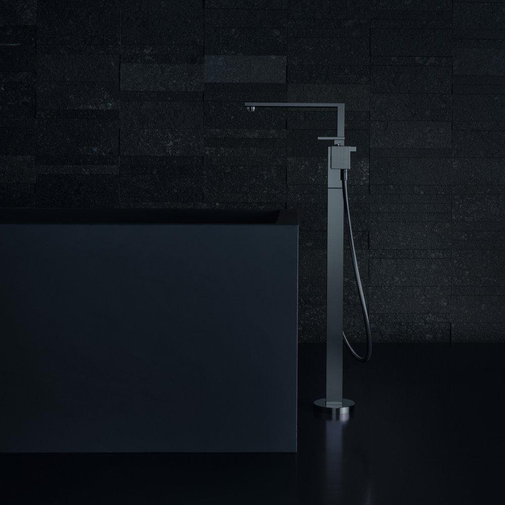Смеситель для ванны AXOR Edge напольный с алмазной огранкой  46441000