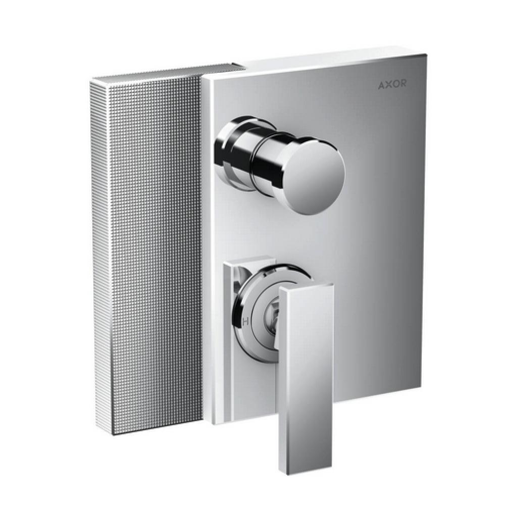 Смеситель для ванны AXOR Edge скрытого монтажа с алмазной огранкой  46451000