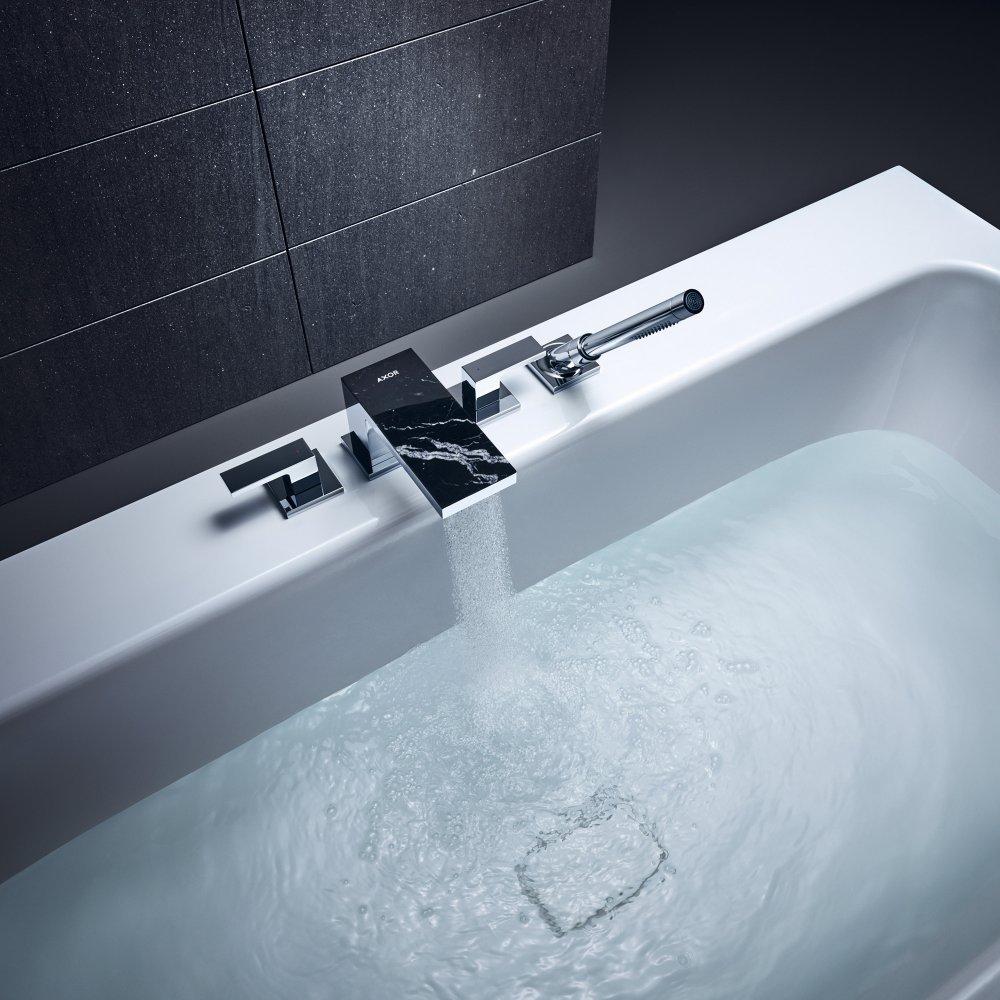 Смеситель на край ванны AXOR MyEdition на 4 отверстия без панели  47432000