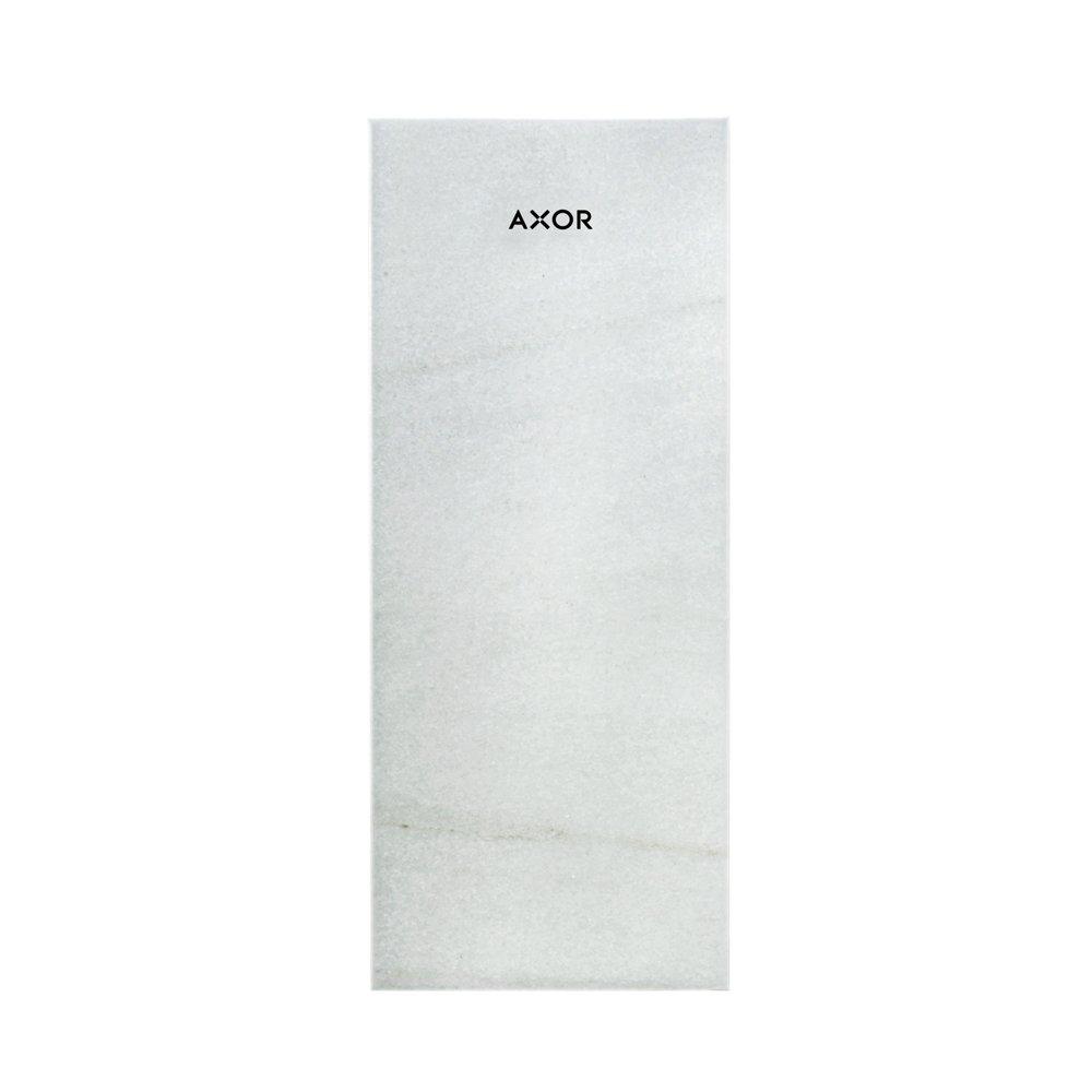Панель AXOR MyEdition 200 белый мрамор Lasa Covelano Vena Oro  47909000