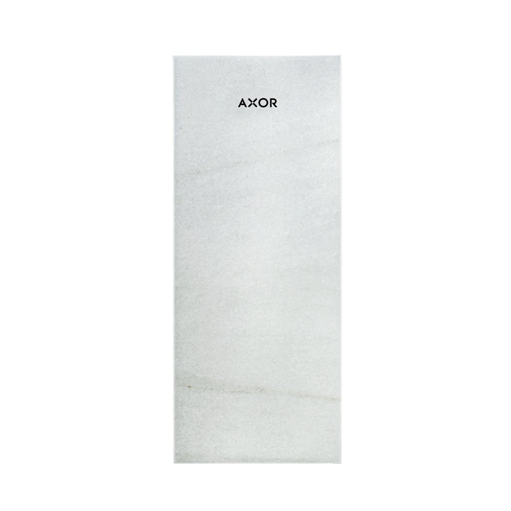 Панель AXOR MyEdition 150 белый мрамор Lasa Covelano Vena Oro  47911000