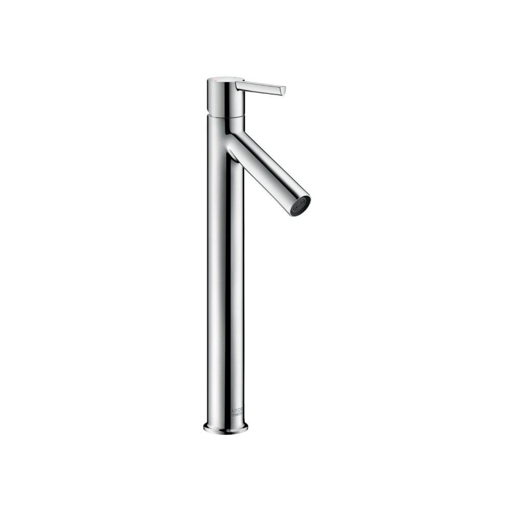 Смеситель AXOR Uno для раковины с высотой излива 250 мм с рукояткой петлей с незапираемым сливным набором хром  10103000