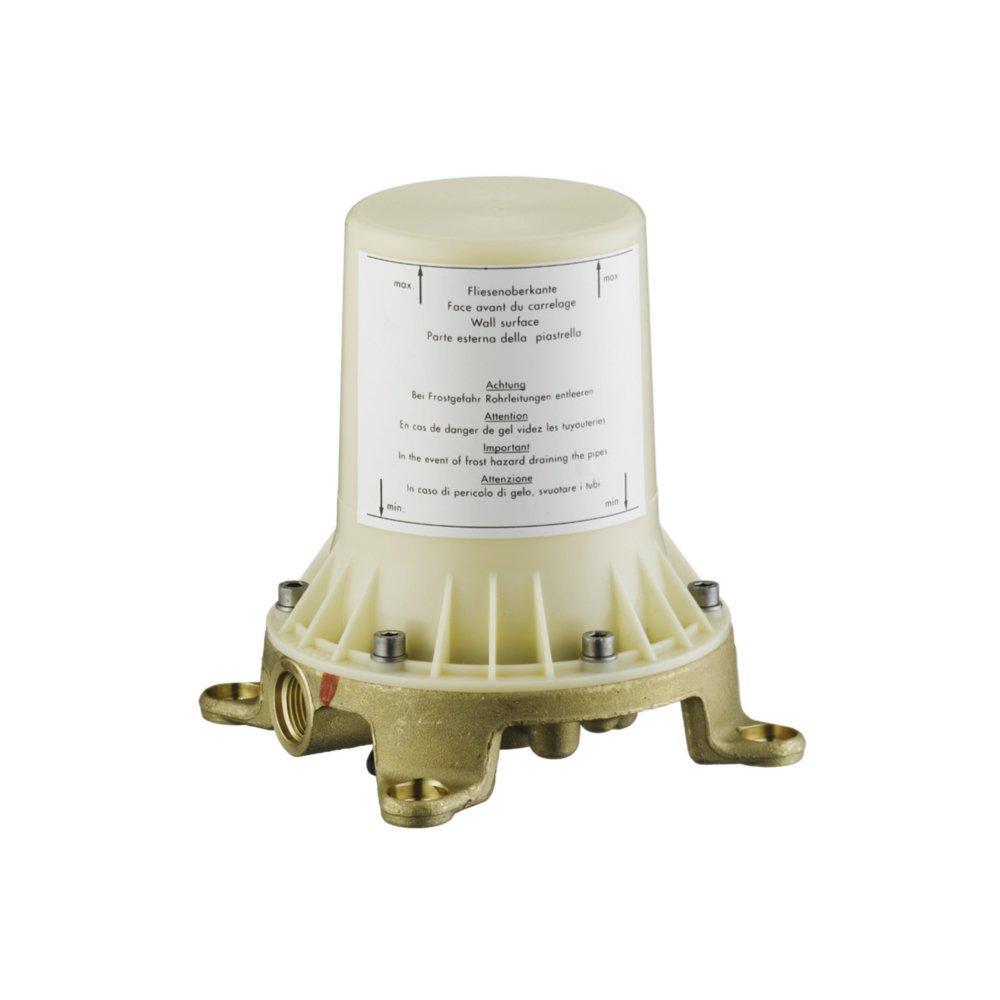Скрытая часть напольного смесителя AXOR Starck для ванны 1/2  10452180