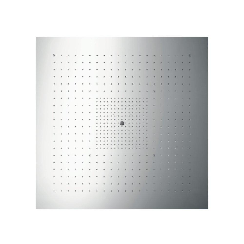 AXOR ShowerSolutions ShowerHeaven 970 x 970 мм с подсветкой 3/4  нержавеющая сталь  10621800