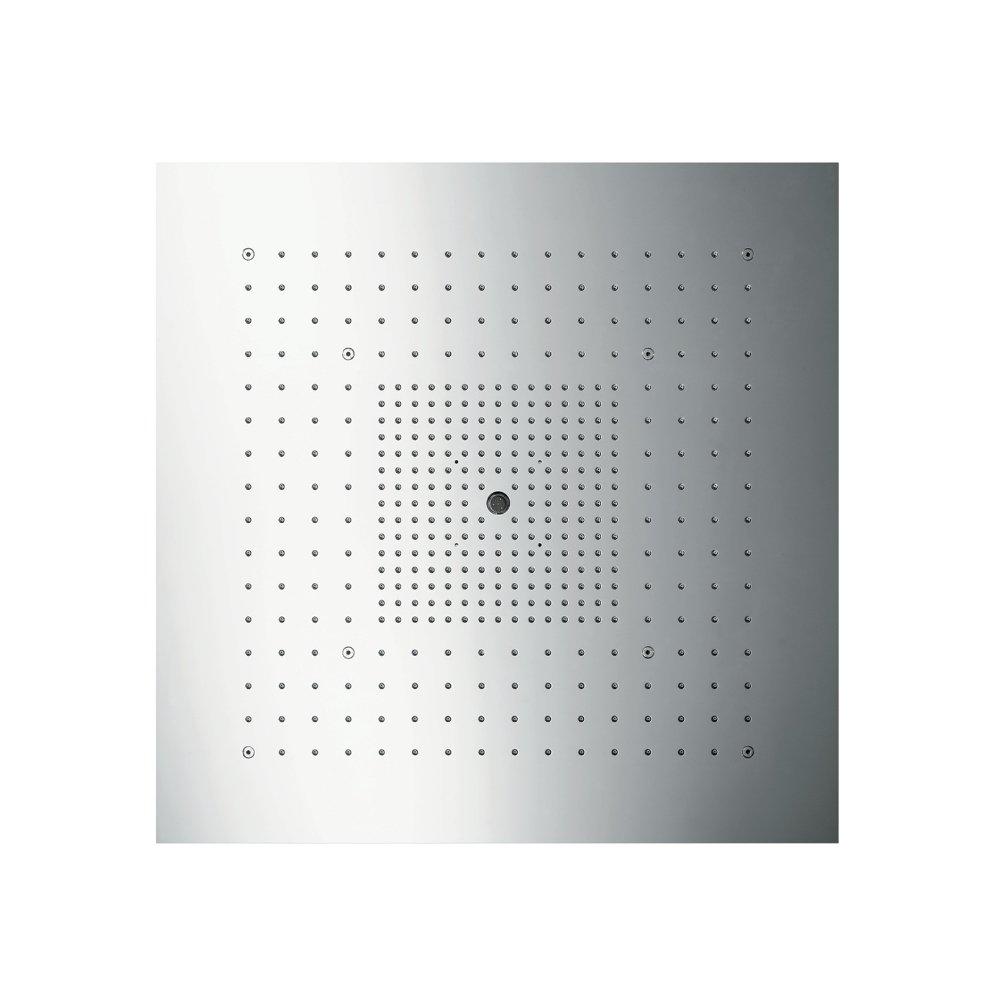 AXOR ShowerSolutions ShowerHeaven 720 x 720 мм с подсветкой 3/4  нержавеющая сталь  10625800