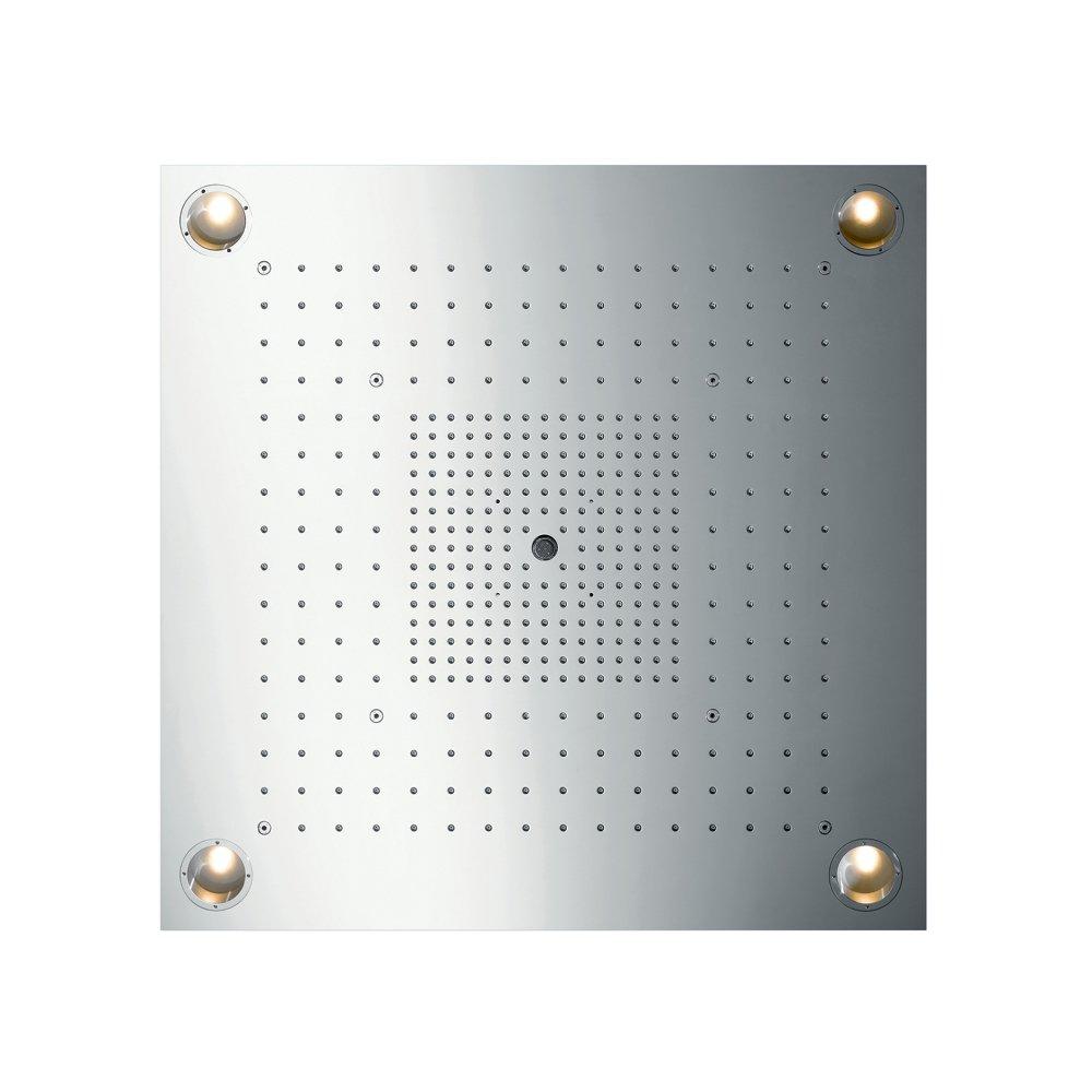 AXOR ShowerSolutions ShowerHeaven 970 x 970 мм без подсветки 3/4  нержавеющая сталь  10627800