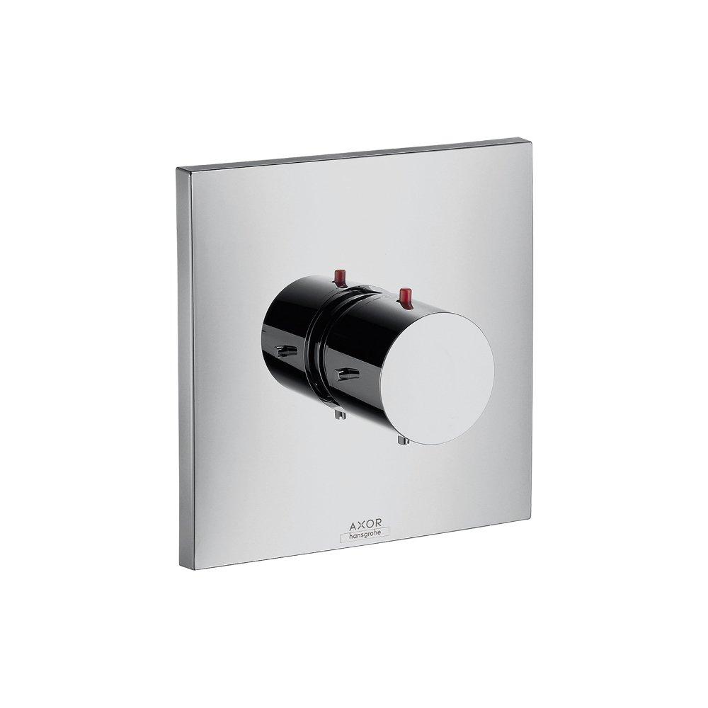 Термостат AXOR Starck Organic для скрытого монтажа запорный вентиль переключатель потоков хром  10716000