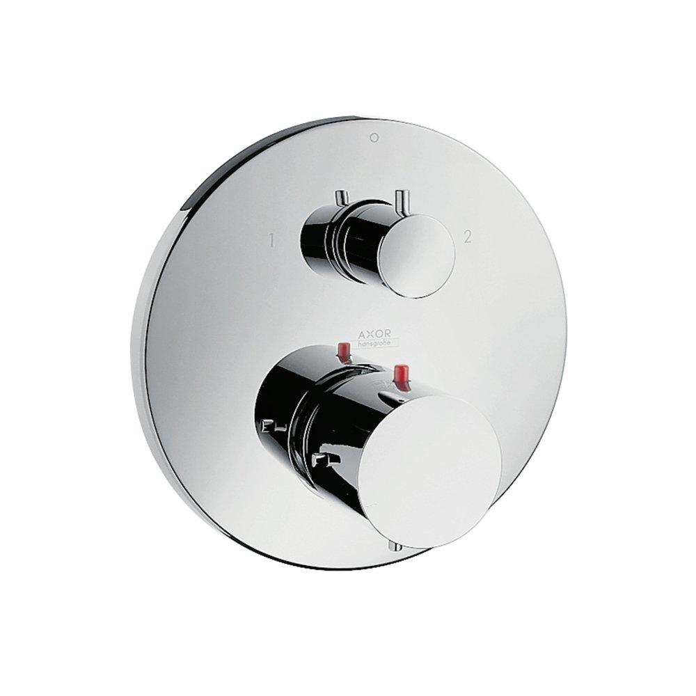 Термостат AXOR Starck X запорный вентиль переключатель потоков для скрытого монтажа хром  10720000