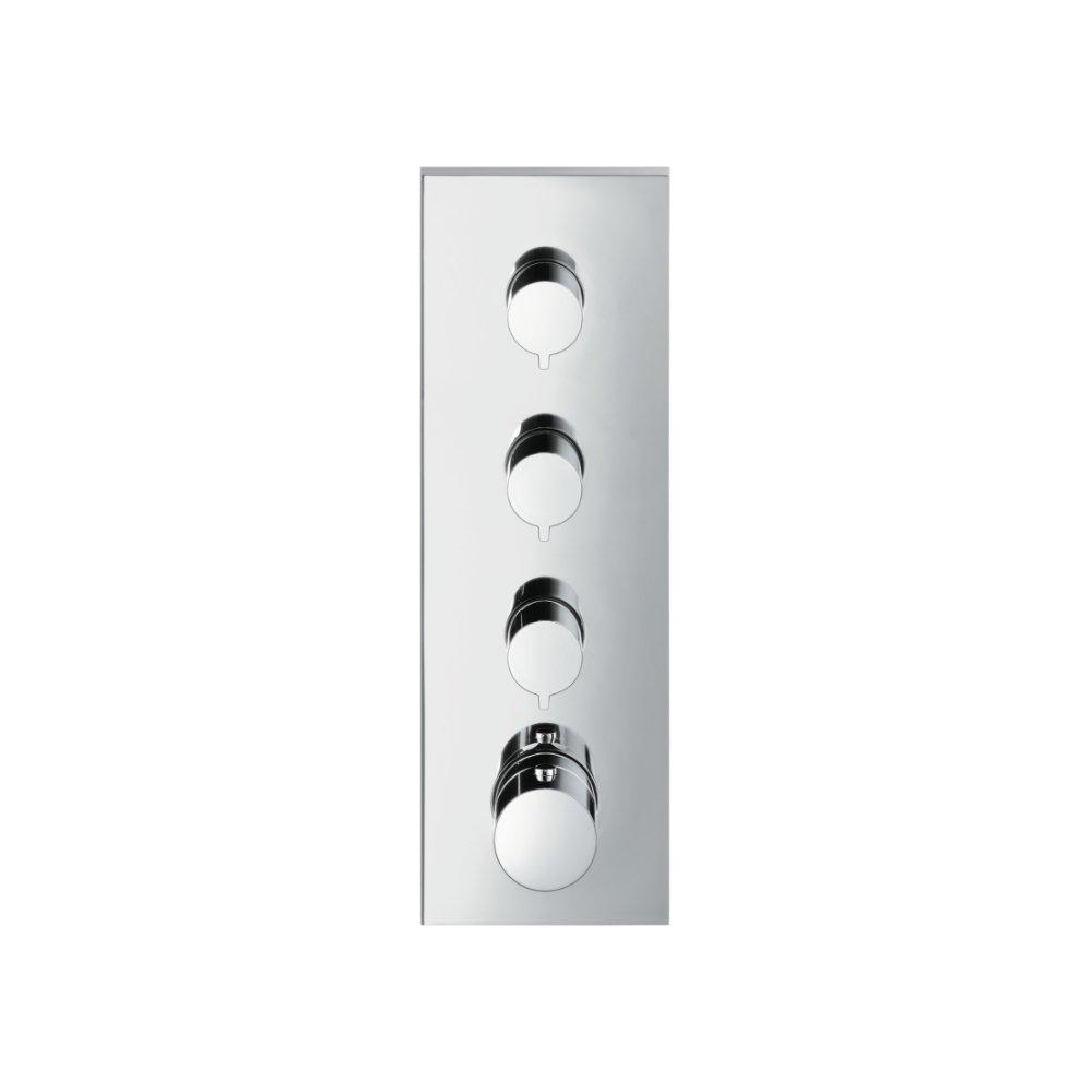 Модуль термостата AXOR ShowerSolutions внешняя часть 3/4  хром  10751000