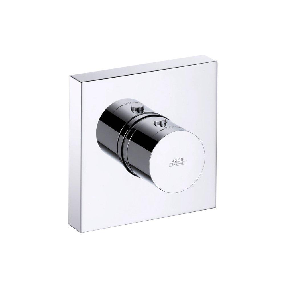 Термостат AXOR Citterio E 120 мм x 120 мм для скрытого монтажа хром  10755000