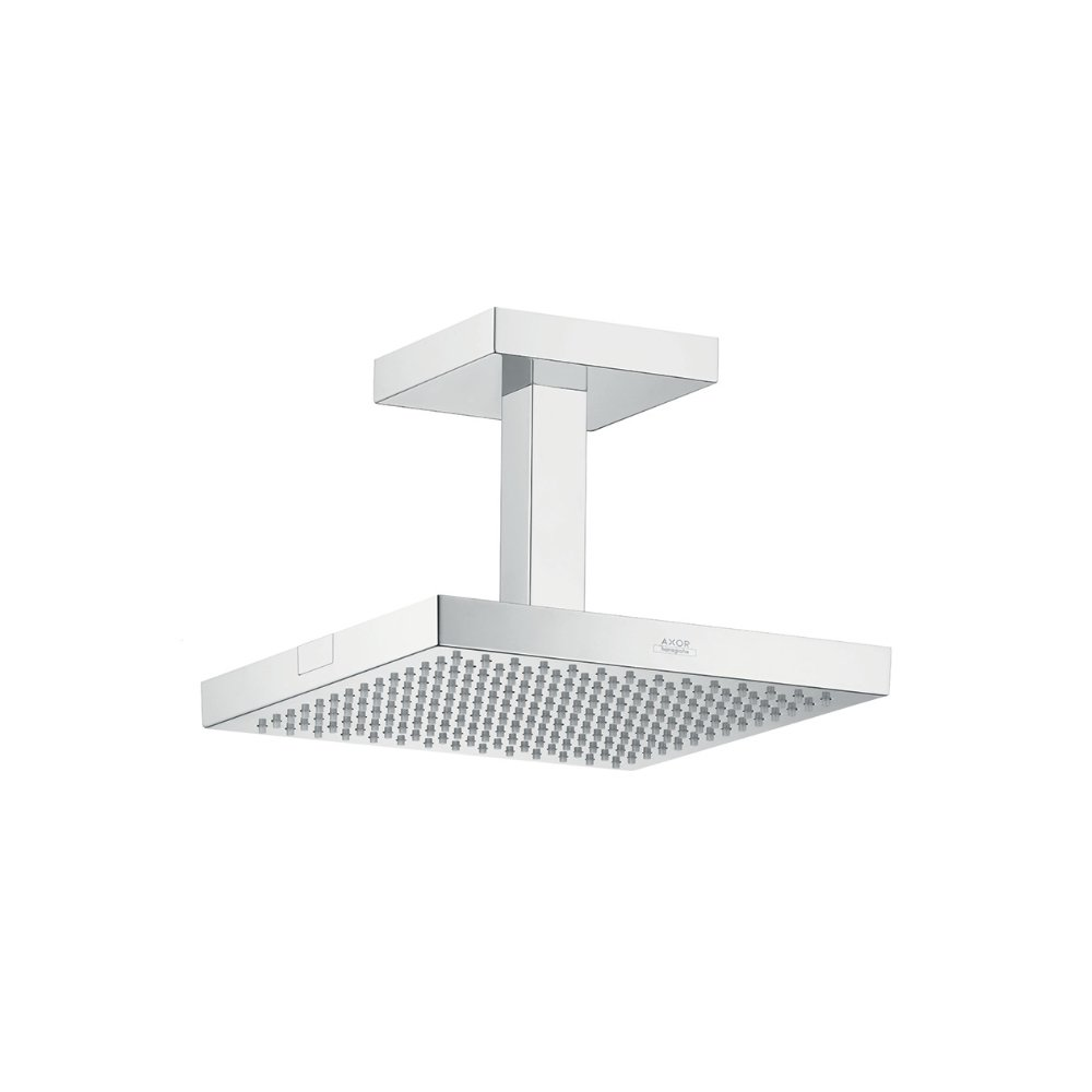 Верхний душ AXOR ShowerSolutions 240 x 240 для скрытого монтажа потолочное подсоединение 1/2  хром  10929000