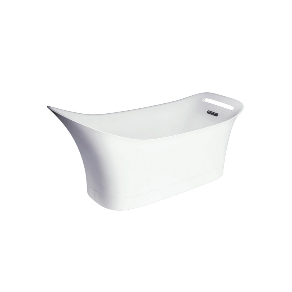 Ванна AXOR Urquiola 1800 на 600 мм белоснежная  11440000