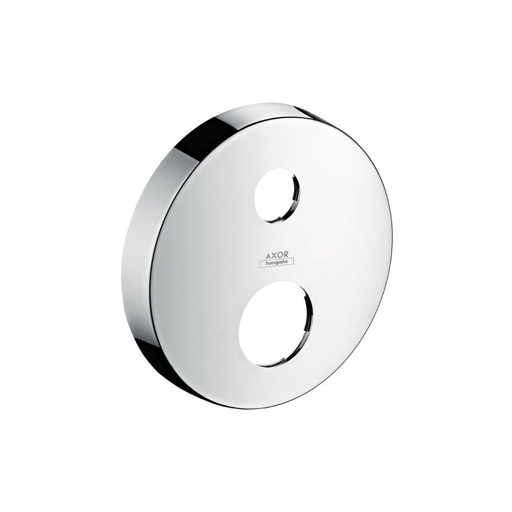 Розетка удлинителя AXOR круглая два отверстия хром  14961000