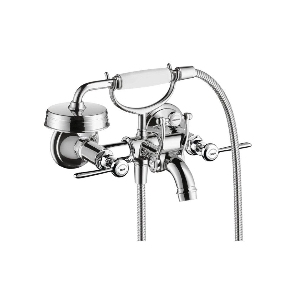 Смеситель для ванны AXOR Montreux с двумя рычаговыми рукоятками внешнего монтажа хром  16551000