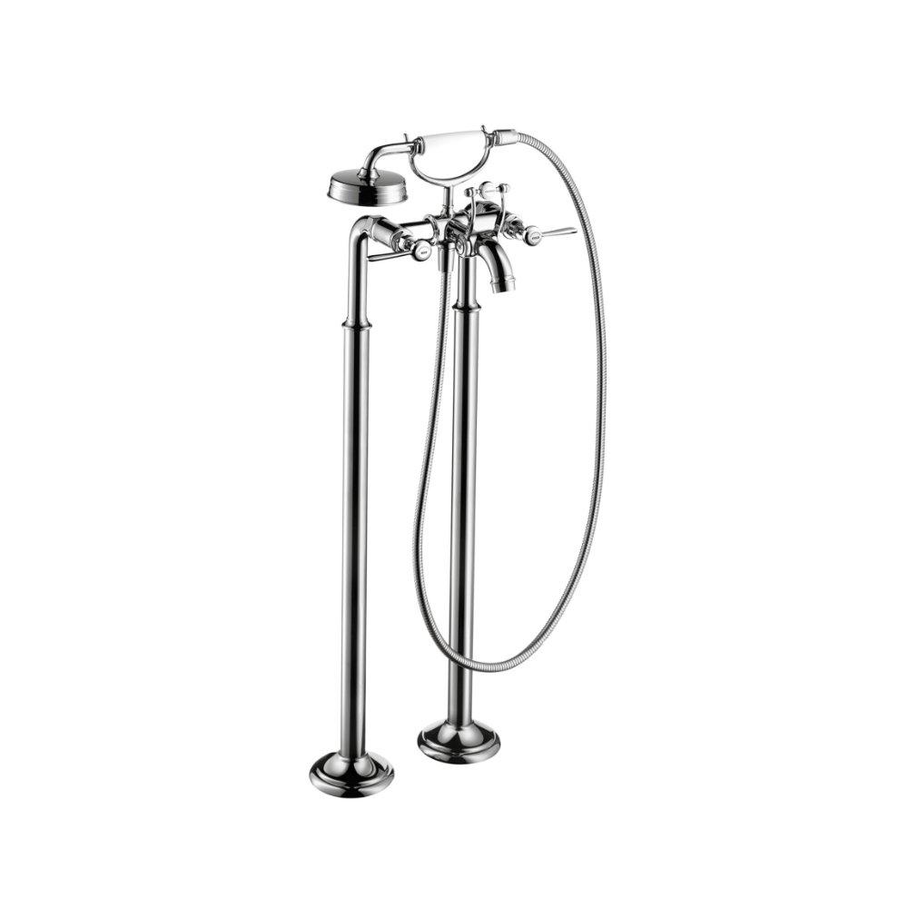 Смеситель для ванны AXOR Montreux с двумя рычаговыми рукоятками напольный хром  16553000