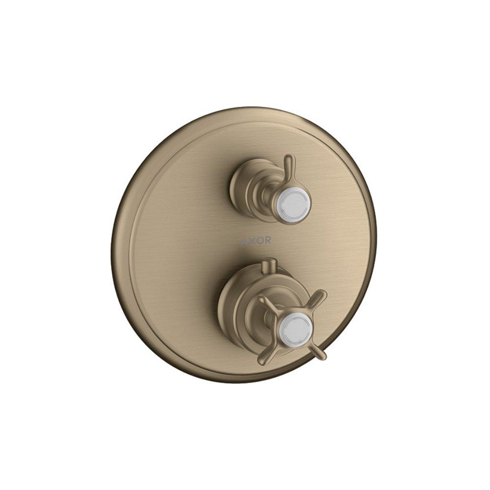 Термостат AXOR Massaud с запорным вентилем для скрытого монтажа хром  16800820
