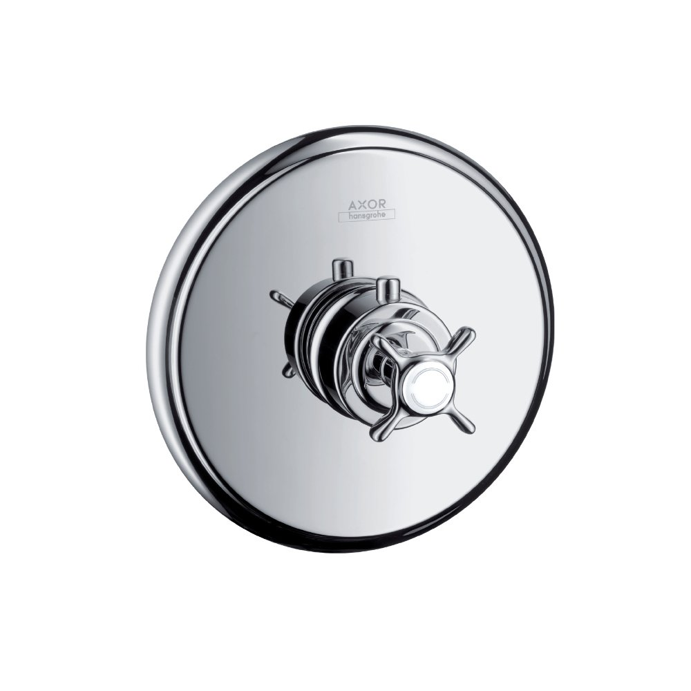 Термостат AXOR Montreux для скрытого монтажа шлифованный никель  16810000