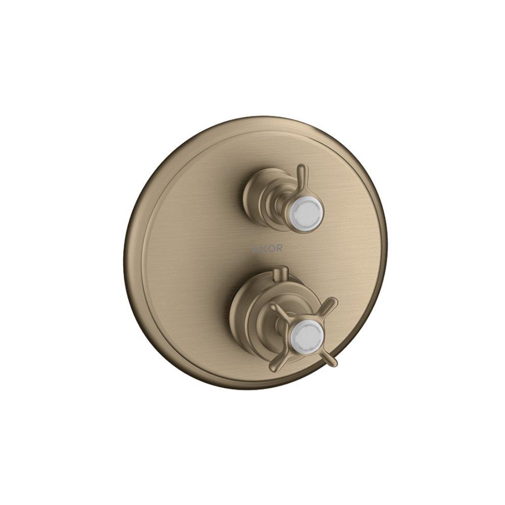 Термостат AXOR Massaud запорный вентиль переключатель потоков для скрытого монтажа хром  16820820