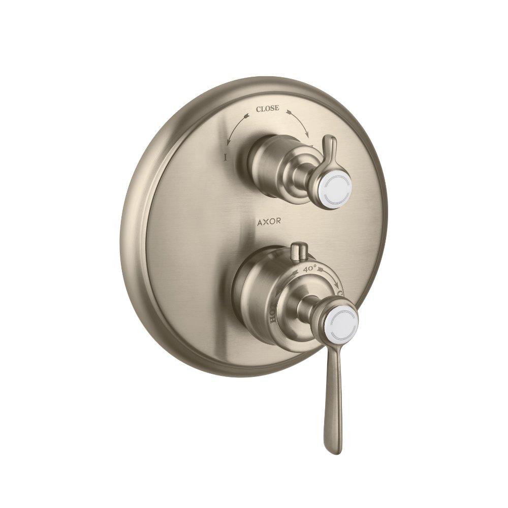 Термостат AXOR Carlton запорный вентиль переключатель потоков с крестовой рукояткой для скрытого монтажа хром  16821820