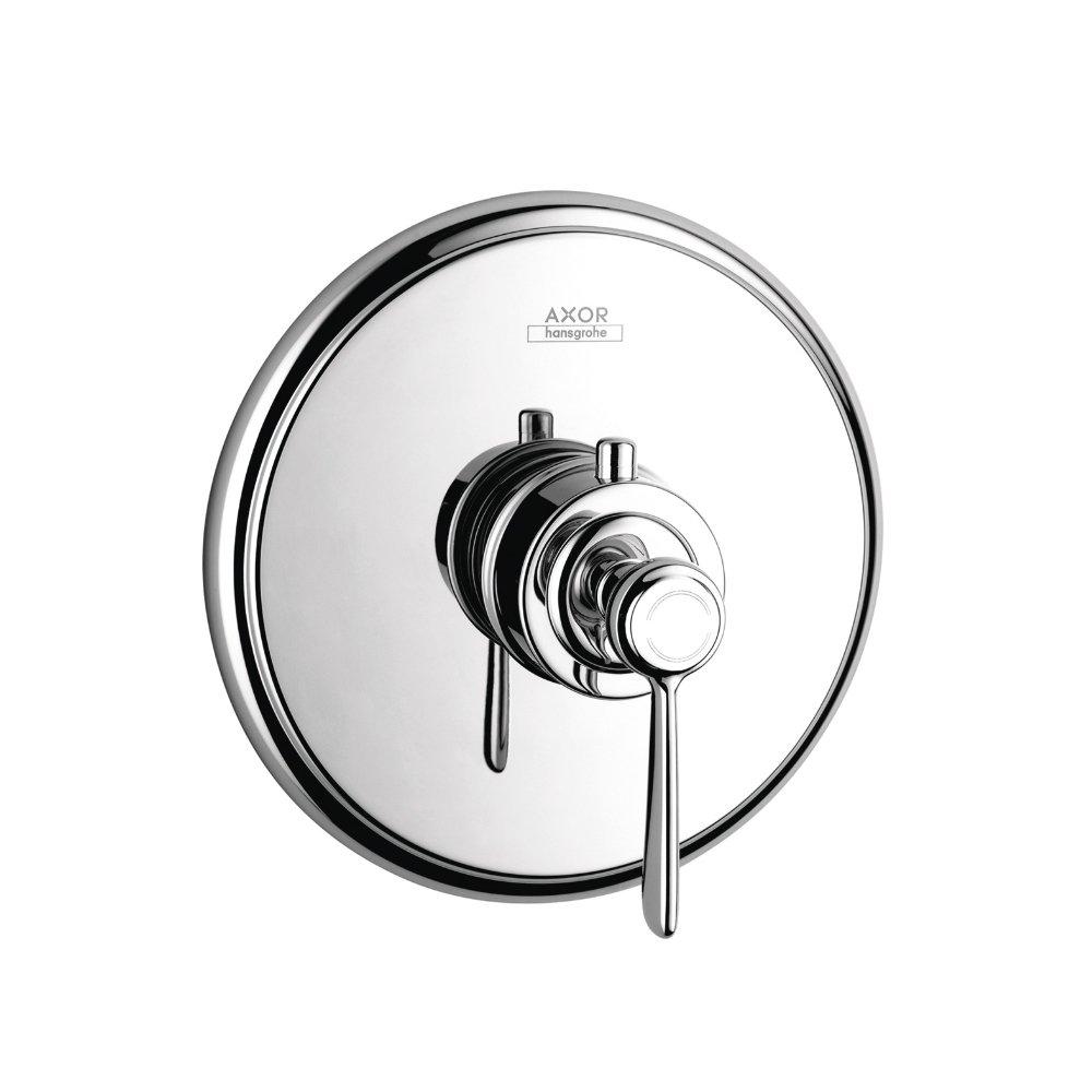 Термостат AXOR Montreux с рычаговой рукояткой для скрытого монтажа шлифованный никель  16823000