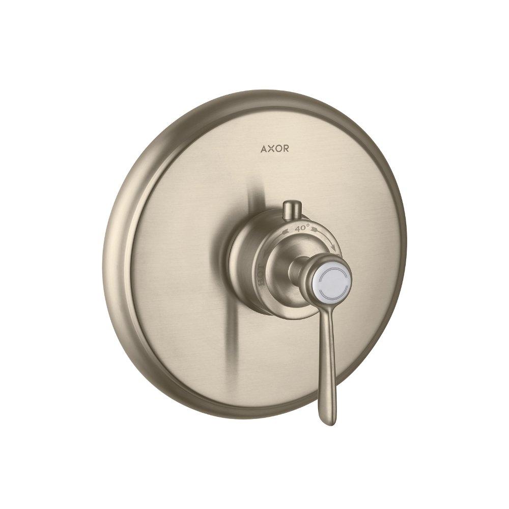 Термостат AXOR Carlton Highflow с крестовой рукояткой для скрытого монтажа хром  16824820