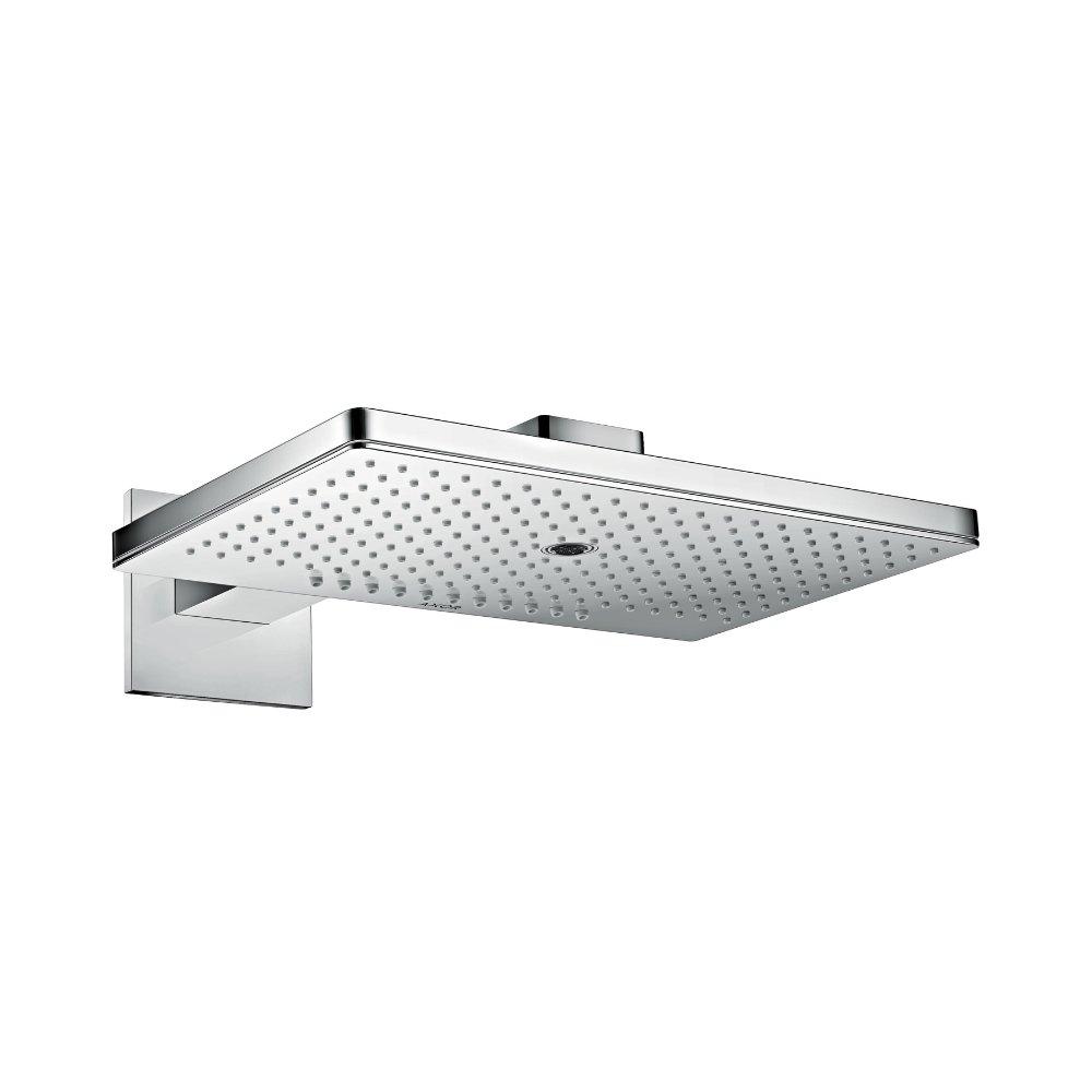 Верхний душ AXOR ShowerSolutions 460 х 360 3jet с душевым держателем и квадратной розеткой хром  35282000
