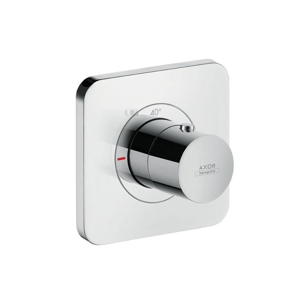 Термостат AXOR Citterio E 380 мм x 120 мм c 3 розетками для 3 потребителей для скрытого монтажа хром  36702000