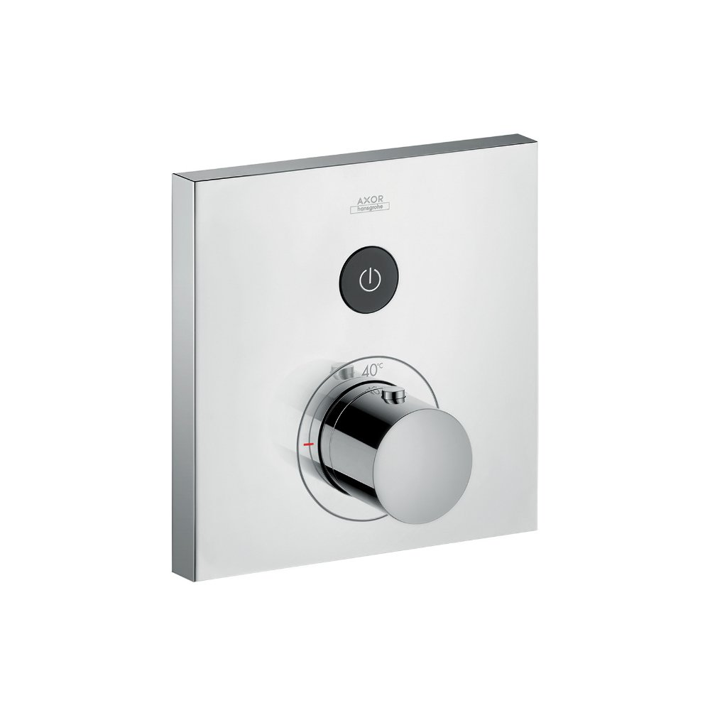 Термостат AXOR ShowerSelect для 1 потребителя для скрытого монтажа круглый хром  36714000