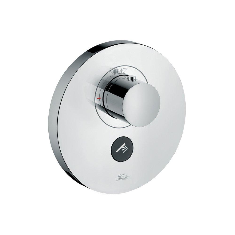 Термостат AXOR ShowerSelect Highflow для 1 потребителя с клапаном для ручного душа для скрытого монтажа шлифованный никель круглый  36726000