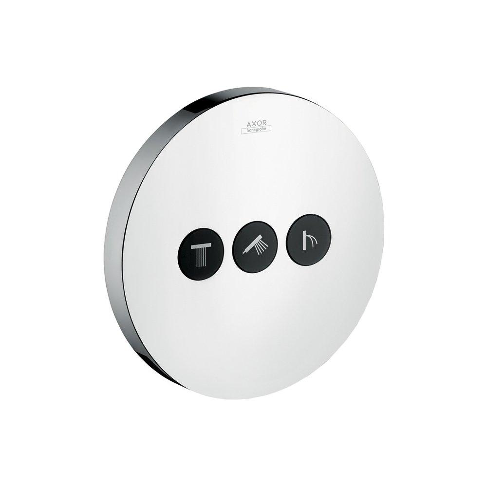 Запорный вентиль переключатель потоков AXOR ShowerSelect на 3 потребителя для скрытого монтажа хром  36727000