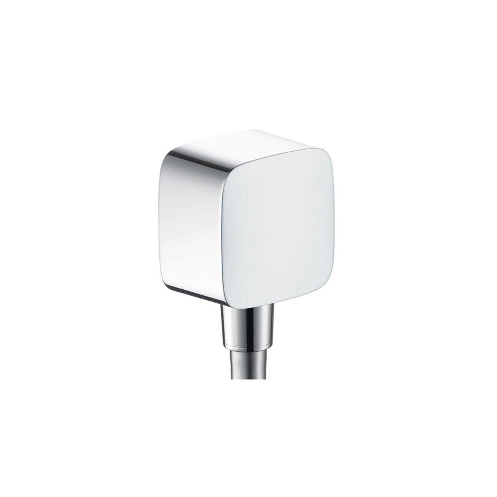 Шланговое подсоединение AXOR ShowerSolutions FixFit Square хром  36731000