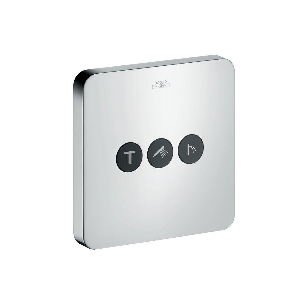 Переключатель потоков AXOR ShowerSelect на 3 потребителя для скрытого монтажа хром  36773000
