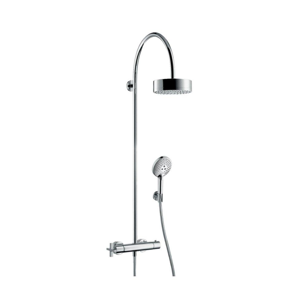 AXOR Montreux Showerpipe с термостатом и верхним душем 1jet хром  39670000