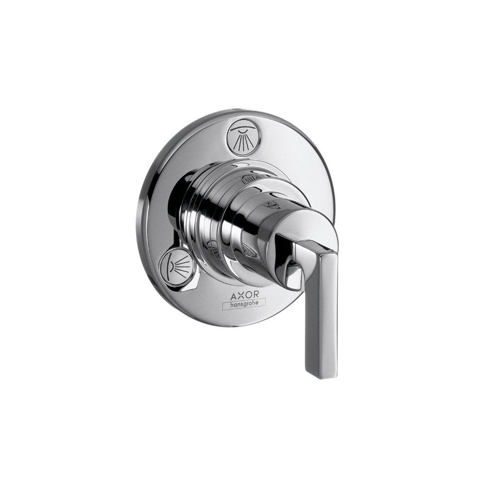 Запорный вентиль переключатель потоков AXOR Citterio Trio/Quattro с рычаговой рукояткой для скрытого монтажа 3/4  хром  39920000