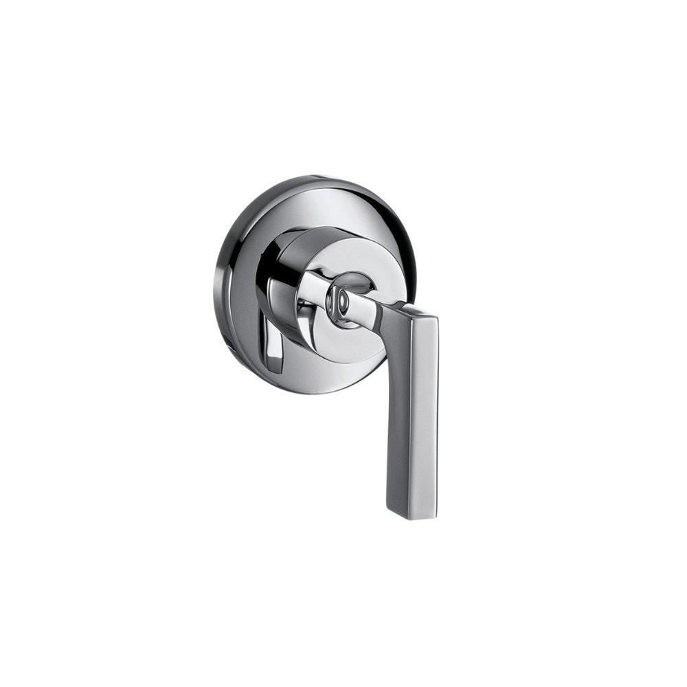 Запорный вентиль AXOR Citterio с рычаговой рукояткой для скрытого монтажа 1/2  и 3/4  хром  39960000