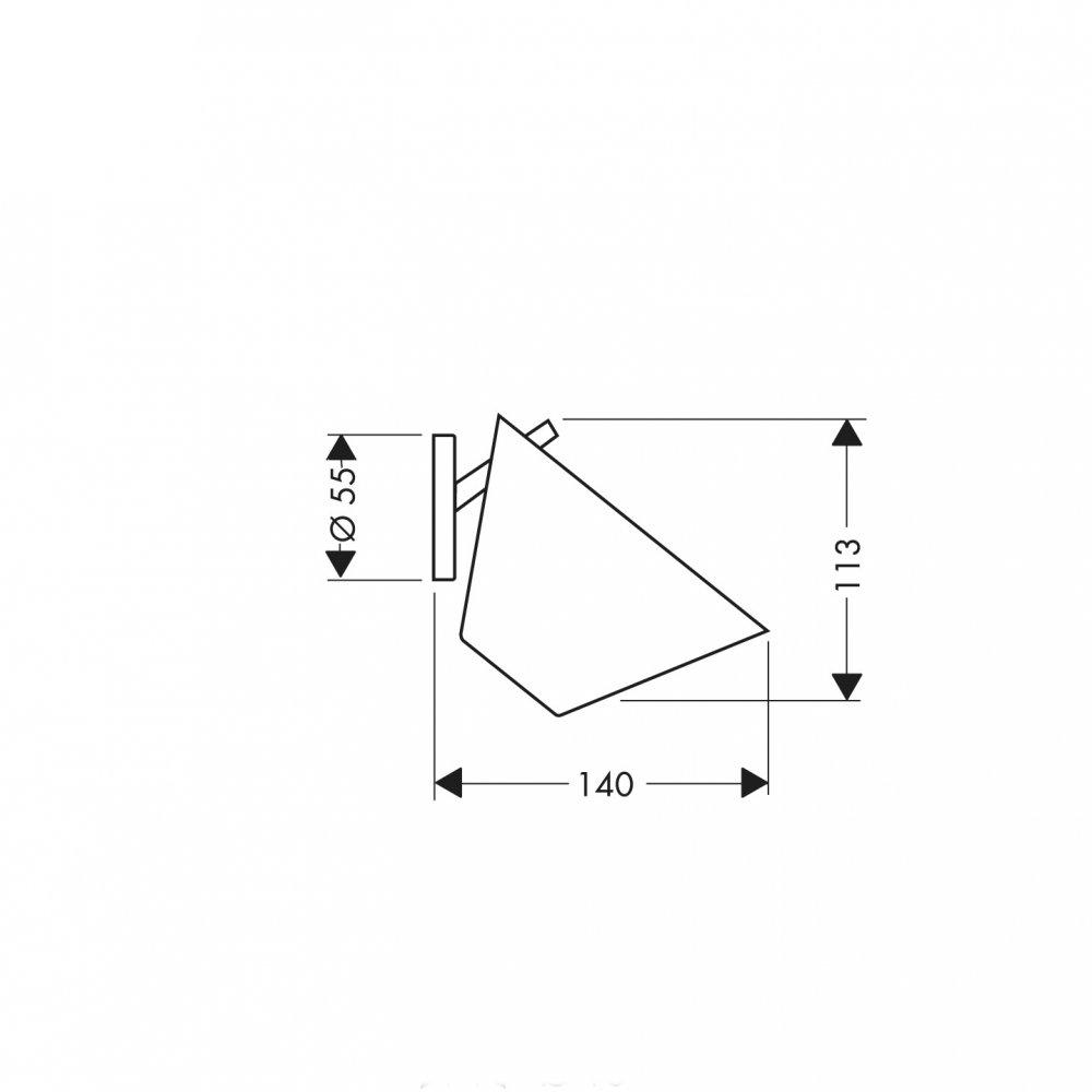 Мыльница AXOR Starck хром  40833000