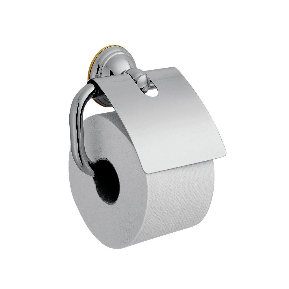Держатель для туалетной бумаги AXOR Carlton с пластиной хром  41438000
