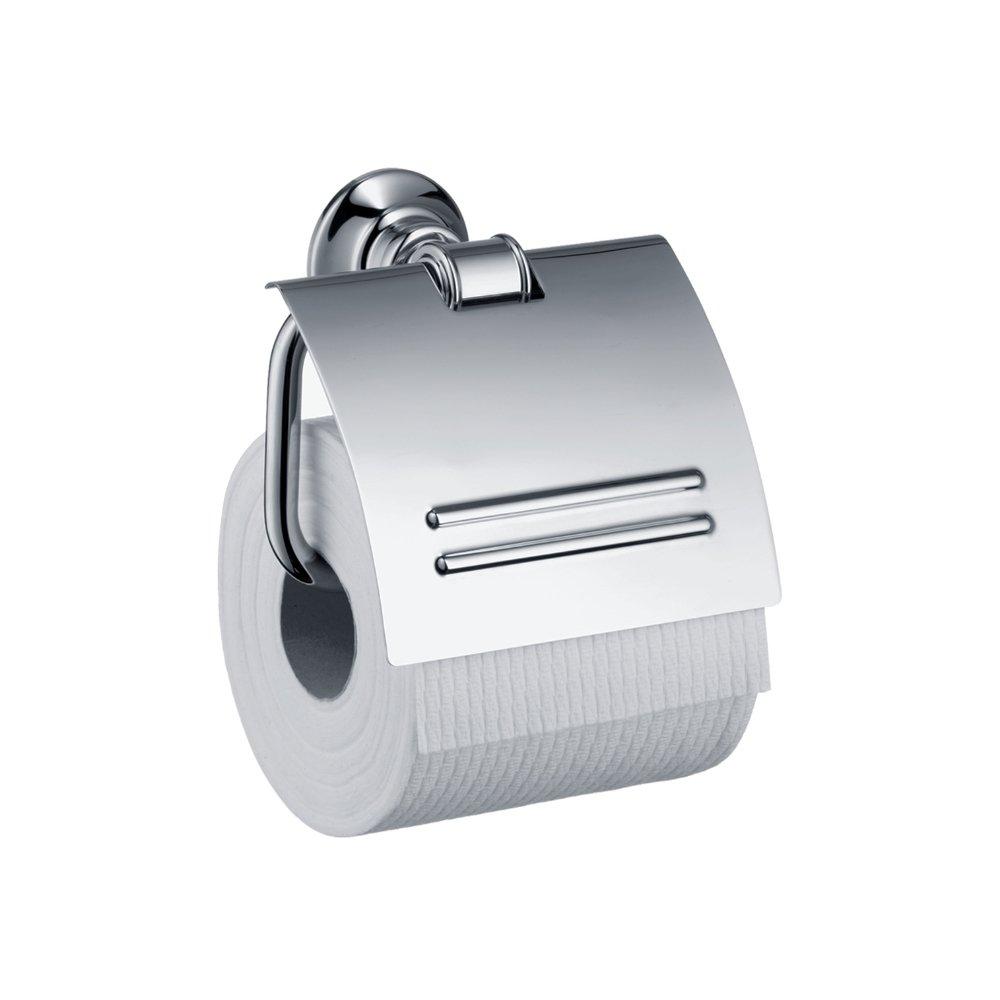 Держатель для туалетной бумаги AXOR Montreux с крышкой хром  42036000
