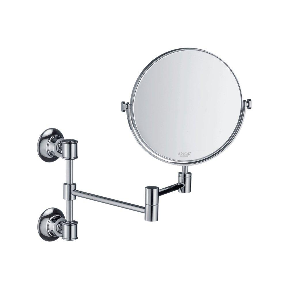 Зеркало косметическое AXOR Montreux хром и золото  42090000