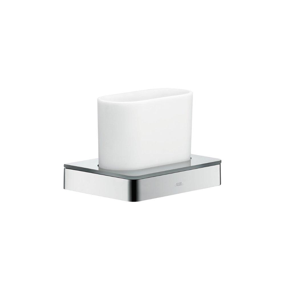 Стаканчик для зубных щеток AXOR Starck хром  42834000