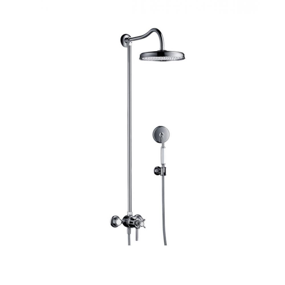 Showerpipe AXOR Montreux с термостатом и верхним душем 1jet  16570000